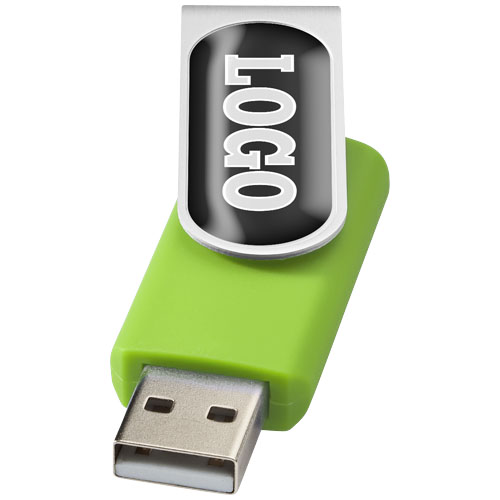 Rotate Dooming 2 GB USB-Stick in limone,silber – Nr. 1212350905