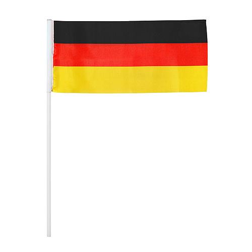 Deko fahnen set stick deutschland in deutschland farben for Deutschland deko