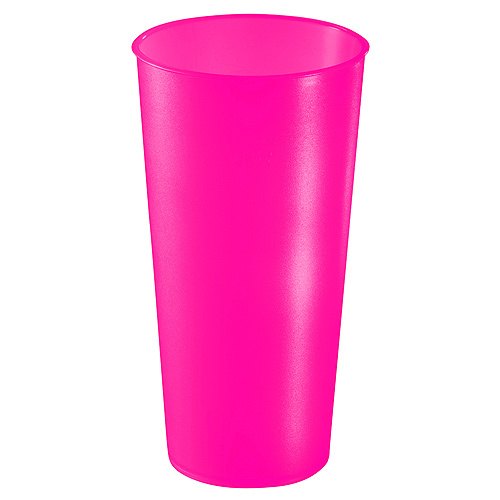 Trinkbecher Colour 0,5 l, neon-pink