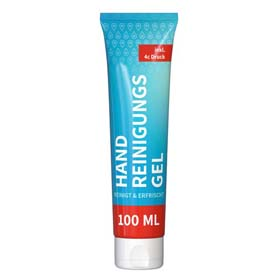 Handreinigungsgel, 100 ml Tube