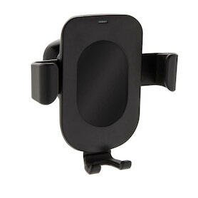 5W Wireless Charging Gravity Telefonhalter, schwarz