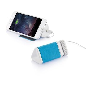 Dobble Kabel & 3.000mAh Powerbank, blau