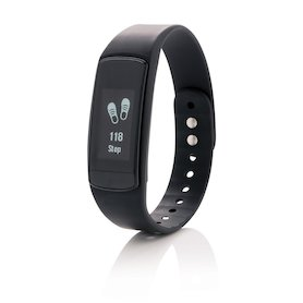 Activity-Tracker mit Touchscreen, schwarz