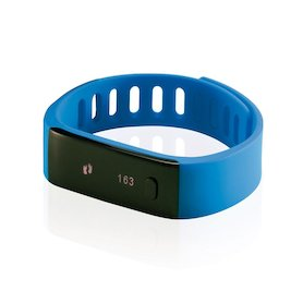 Activity tracker, blau/schwarz