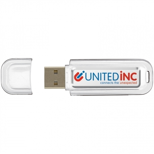 USB 4GB Flash drive Doming in Weiss – Nr. 46LT26502N0001