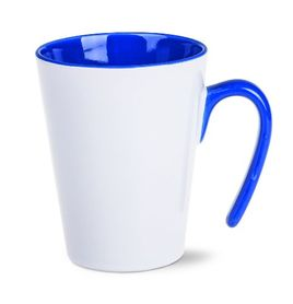 Becher Open blau